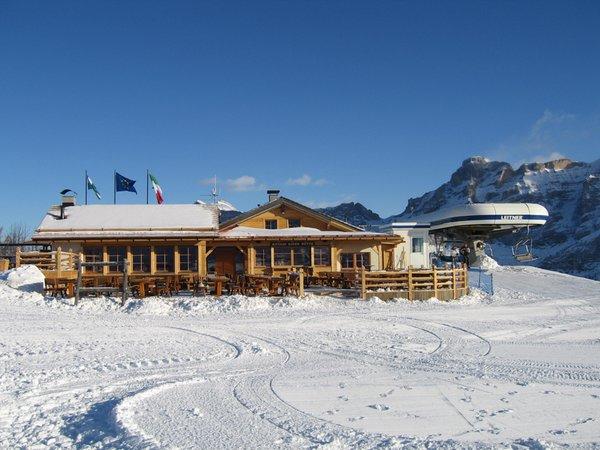 Foto invernale di presentazione Ütia de Bioch - Rifugio