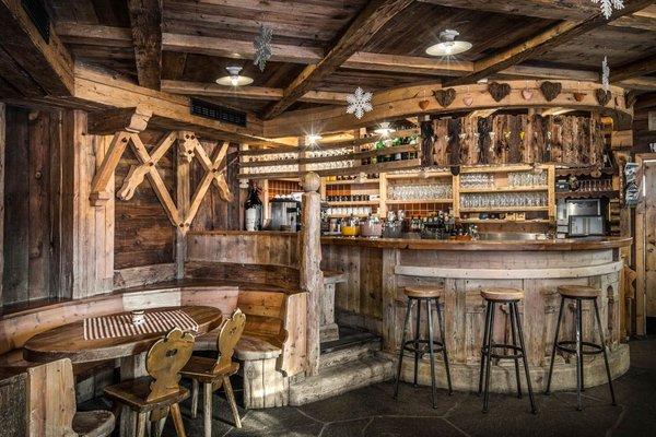 Foto von der Bar Hütte Capanna Nera - Negerhütte