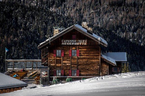 Winter Präsentationsbild Rifugio Capanna Nera / Negerhütte