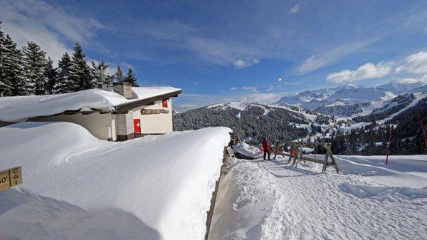 Foto esterno in inverno Crép de Munt