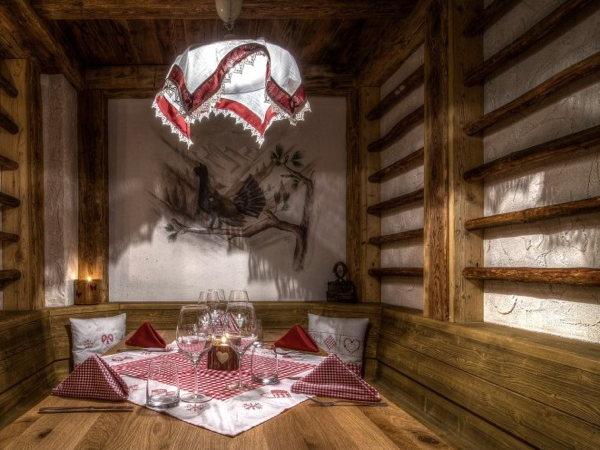 Il ristorante Colfosco Edelweiss
