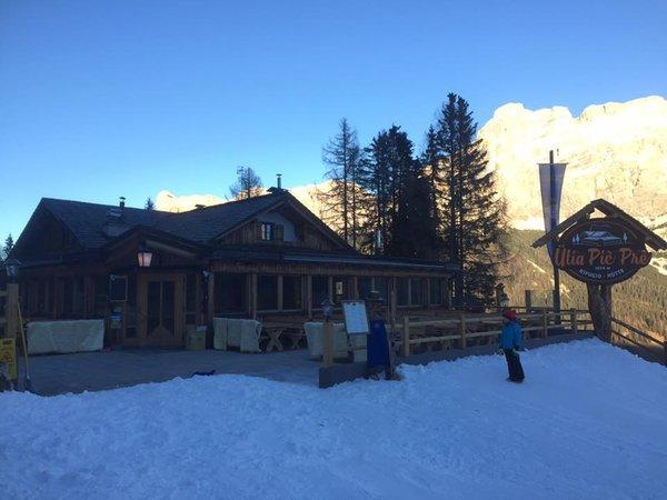 Photo exteriors in winter Pic Prè