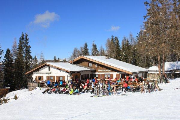 Foto invernale di presentazione Rifugio Ütia Nagler
