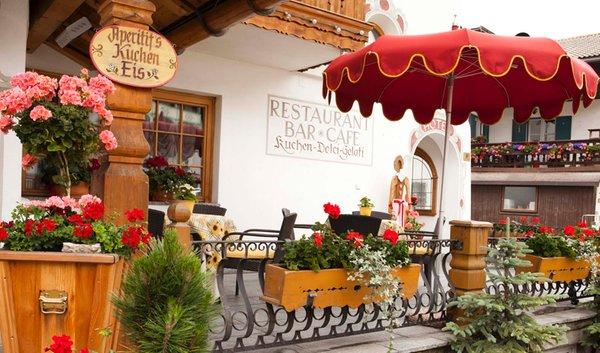 Foto estiva di presentazione Ristorante Bar Cafè Romantic-Stube