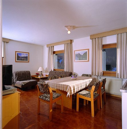 The living area Residence La Zondra