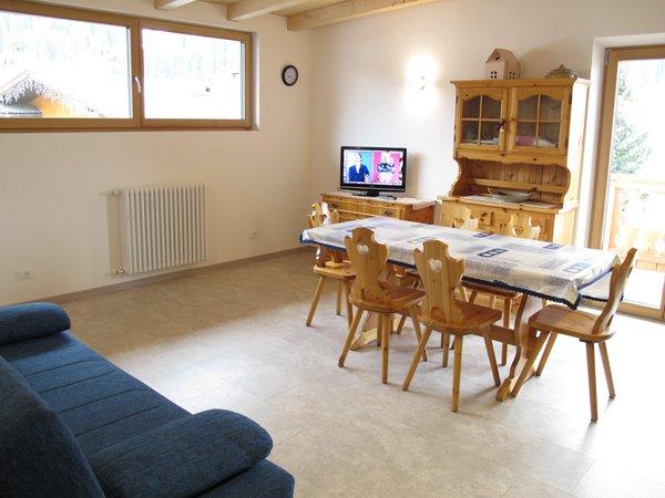 La zona giorno Casari Chiara - Appartamenti 3 genziane