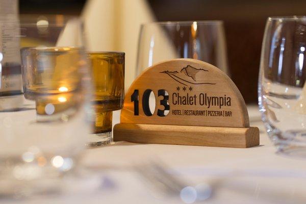 Foto di alcuni dettagli Chalet Olympia