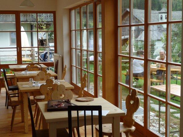 Il ristorante Valle di Casies Regiohof