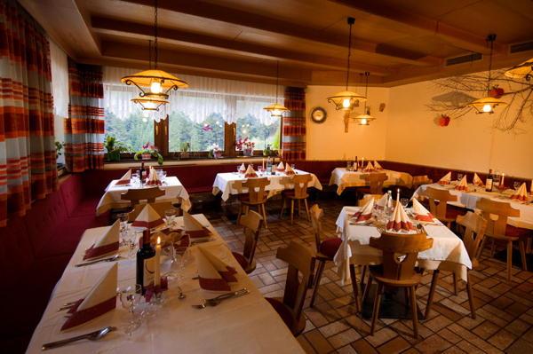 Il ristorante Sorafurcia (Valdaora) Bad Bergfall
