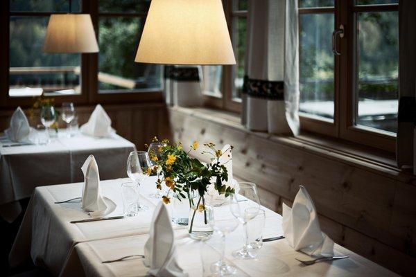 Il ristorante San Lorenzo di Sebato Saalerwirt