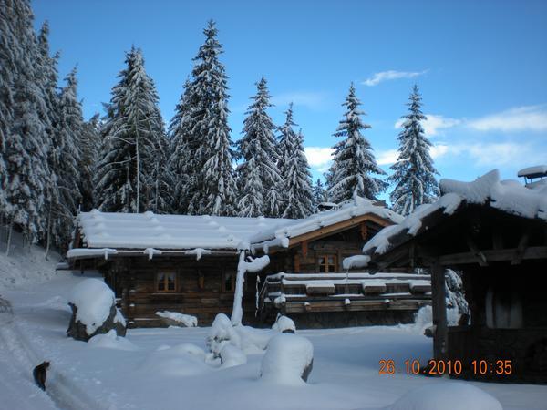 Foto invernale di presentazione Ristorante Almdorf Haidenberg