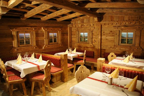 Il ristorante San Lorenzo di Sebato Almdorf Haidenberg