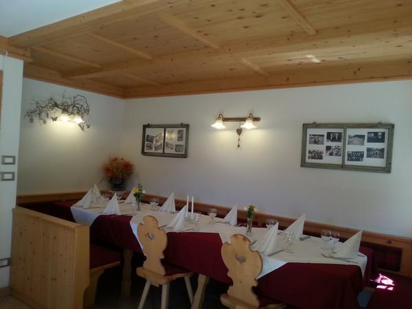 The restaurant Anterselva / Antholz Osteria contadina Dorfmüllerhof