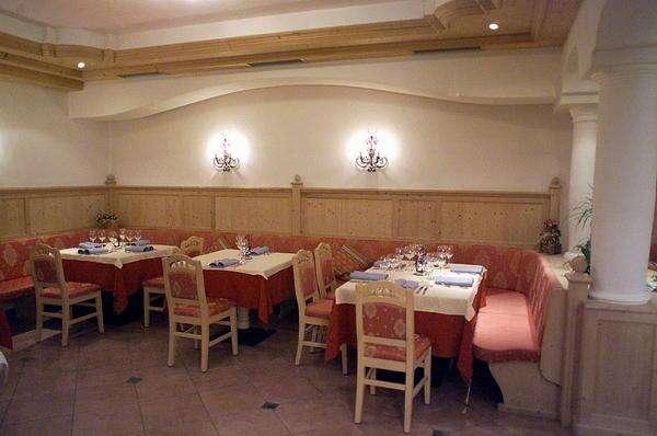 Il ristorante San Cassiano Tiac