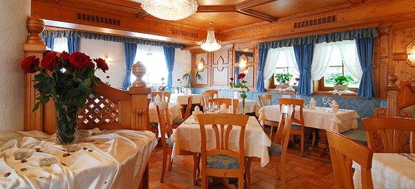 Il ristorante Anterselva Santeshotel Wegerhof