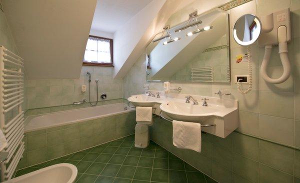 Foto del bagno Hotel Santeshotel Wegerhof
