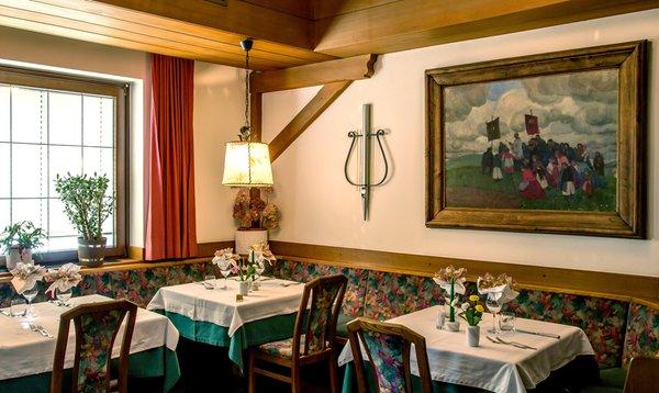 Il ristorante Casteldarne (Chienes) Obermair