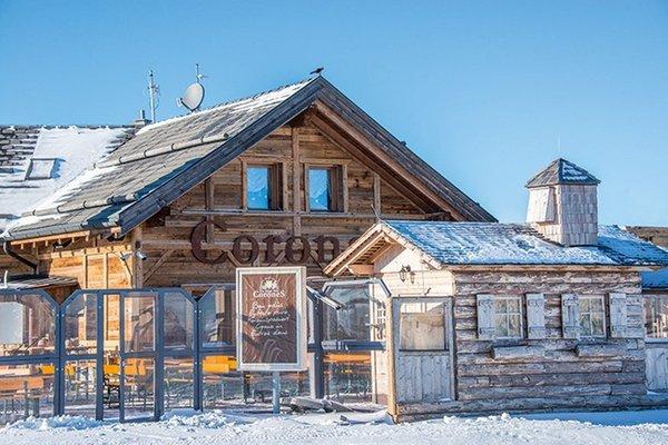 Photo exteriors in winter Corones