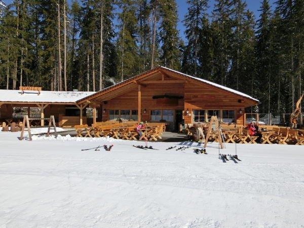 Foto invernale di presentazione Baita Ütia Al Cir