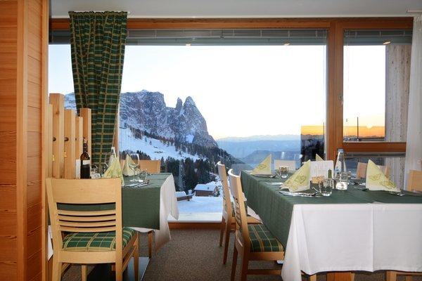 Il ristorante Alpe di Siusi Zorzi