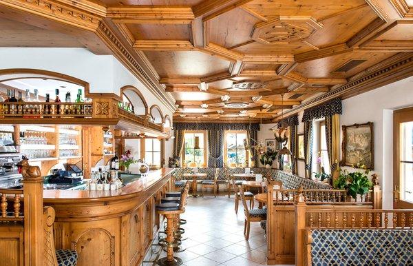 Il ristorante Ortisei Ansitz Jakoberhof