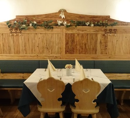 Il ristorante Ortisei Maurizkeller