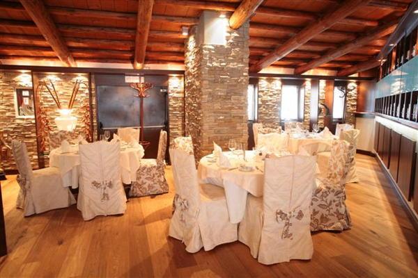Il ristorante Selva Gardena L'Medel