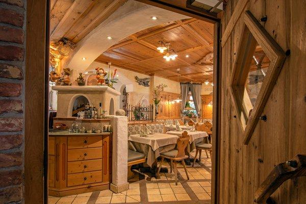 Das Restaurant Wolkenstein L Ciamin