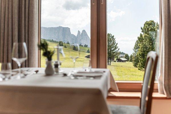 Il ristorante Alpe di Siusi Steger-Dellai