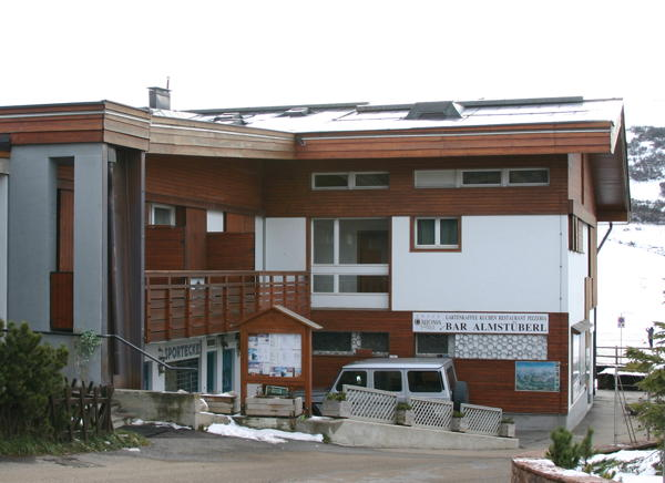 Photo exteriors in winter Almstüberl