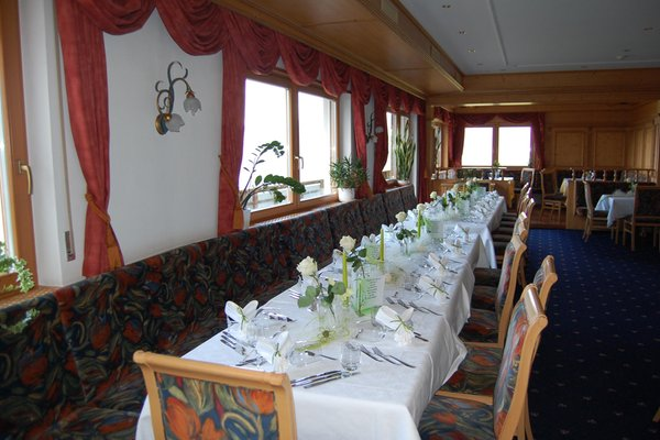 The restaurant Alpe di Siusi / Seiser Alm Gstatsch