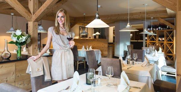 Il ristorante Siusi allo Sciliar Trotzstube