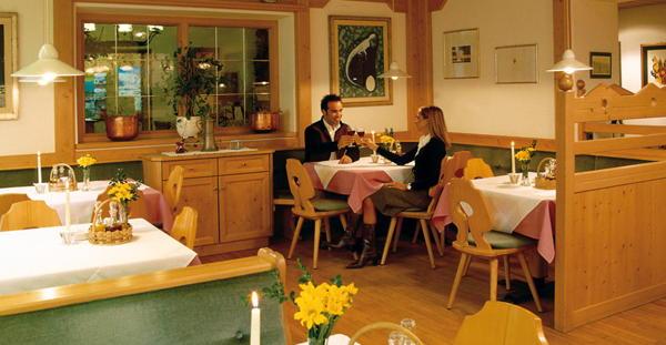 Das Restaurant Toblach Dolomiten
