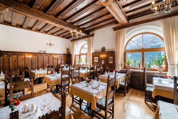 The restaurant Braies / Prags Hohe Gaisl