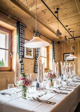 Il ristorante Alpe di Siusi Tirler