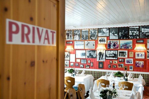 Il ristorante Selva Gardena Emilio Comici