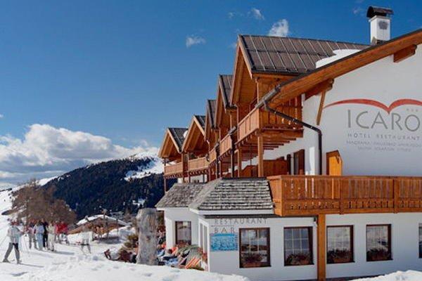 Foto invernale di presentazione Icaro - Ristorante