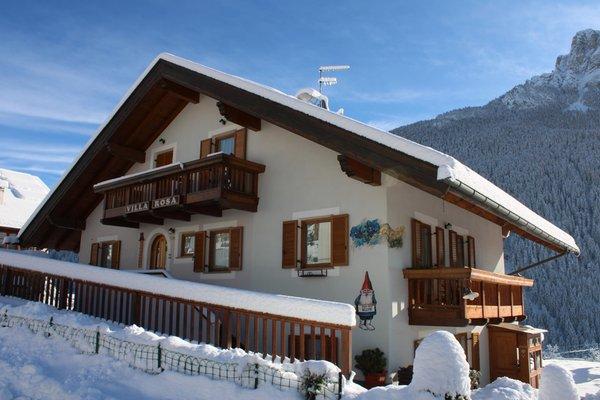 Foto invernale di presentazione Appartamenti Villa Rosa