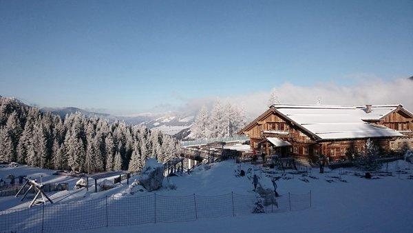 Foto invernale di presentazione Rifugio Gigante Baranci