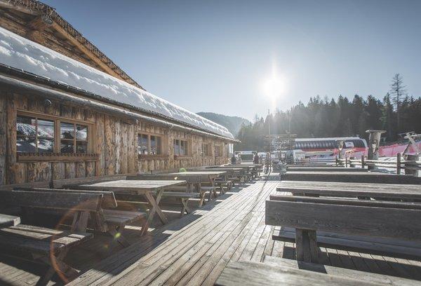 Winter presentation photo Rifugio Pollaio / Berghütte Hennstoll