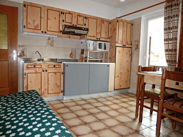 Foto della cucina Ciasa Paolina