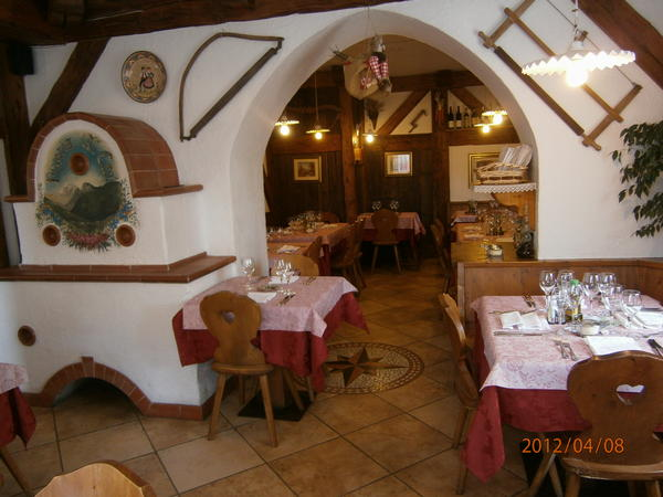 The restaurant Selva di Cadore Al Crot