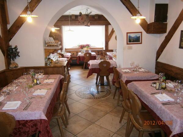 Il ristorante Selva di Cadore Al Crot