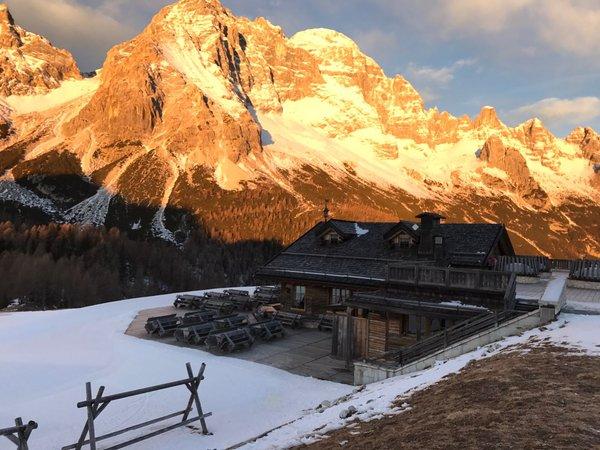 Foto invernale di presentazione Su'n Paradis - Rifugio