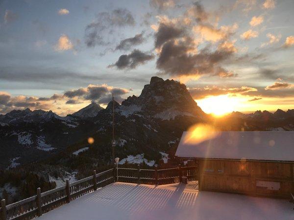 Winter presentation photo La Ciasela Mountain Restaurant