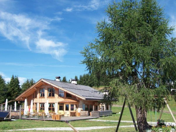 Photo exteriors in summer Ristoro Belvedere