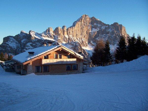 Foto invernale di presentazione Belvedere - Rifugio