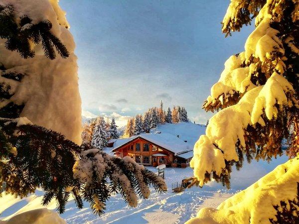 Photo exteriors in winter Ristoro Belvedere