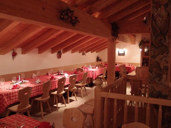 The restaurant Selva di Cadore Ristoro Belvedere