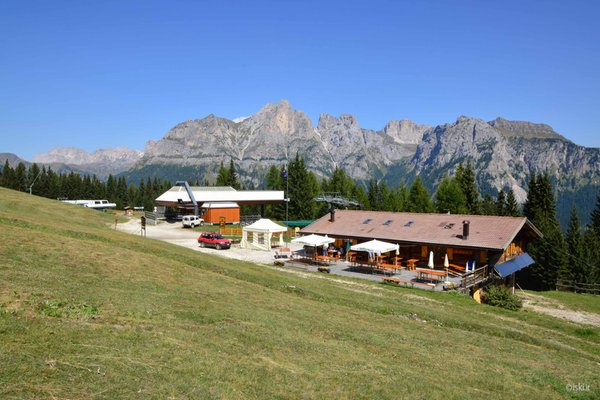 Photo exteriors in summer Mountain hut Fertazza